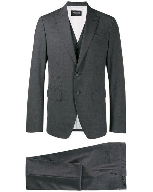 メンズ DSquared² ツーピース スーツ Gray