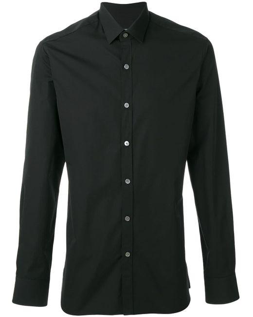 メンズ Lanvin コットンシャツ Black