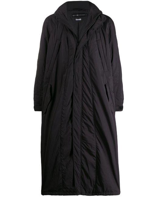 メンズ Issey Miyake オーバーサイズ トレンチコート Black