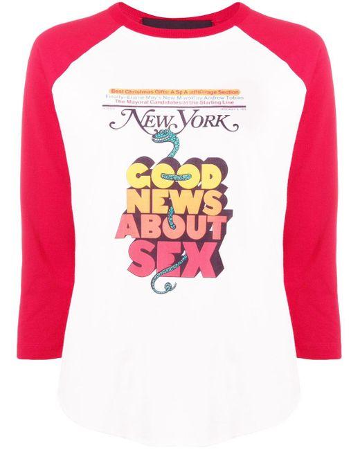 Marc Jacobs New York Magazine トップ Multicolor