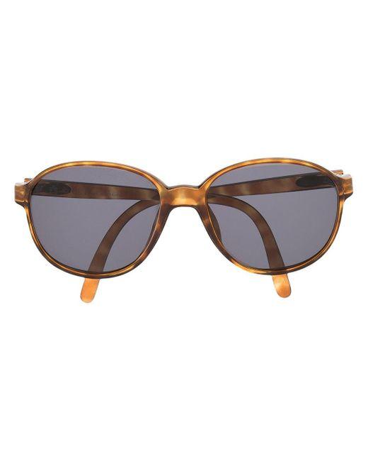 Солнцезащитные Очки Monsieur В Круглой Оправе Dior, цвет: Brown
