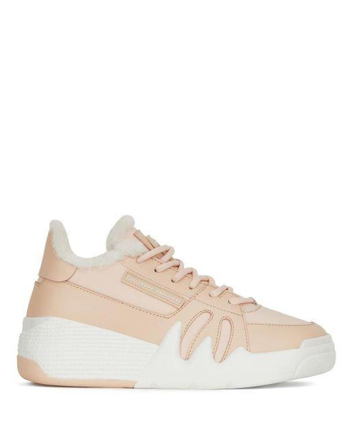 Zapatillas Talon Giuseppe Zanotti de color Pink