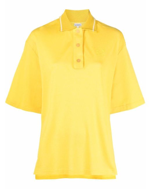 Loewe アナグラム ポロシャツ Yellow