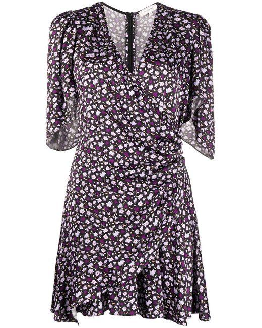 Chinti & Parker Robe à fleurs femme de coloris noir w5z1C