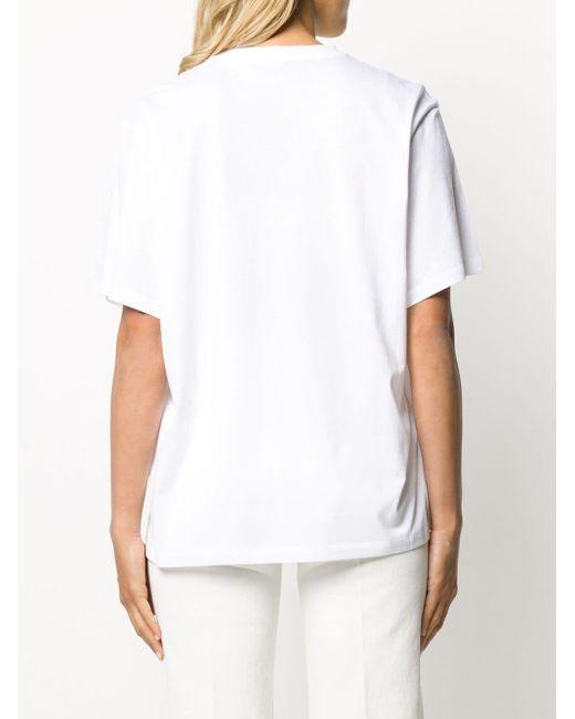 Футболка С Логотипом Stella McCartney, цвет: White