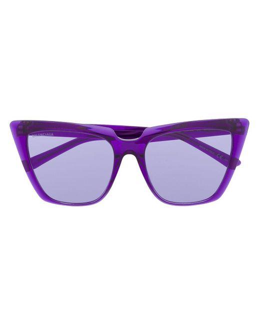 Balenciaga キャットアイ サングラス Purple