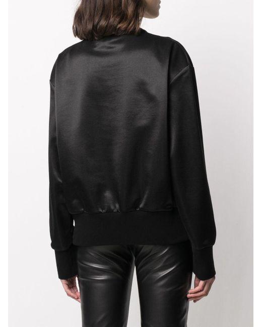Versace メデューサ スウェットシャツ Black