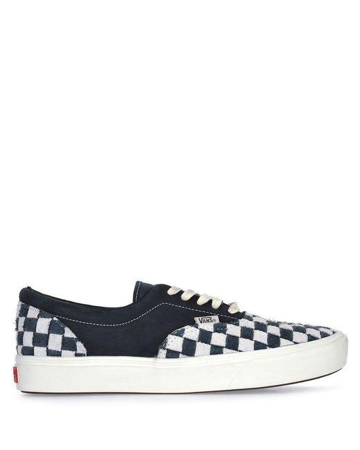 219fd1db4c68 Vans - Blue Checkered Low Tops for Men - Lyst ...