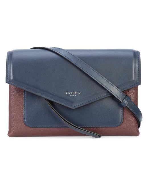 86125e67e49b Givenchy Duetto Crossbody Bag in Blue