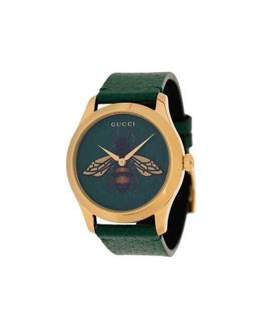 Gucci G-タイムレス ミディアム 腕時計 38mm Green