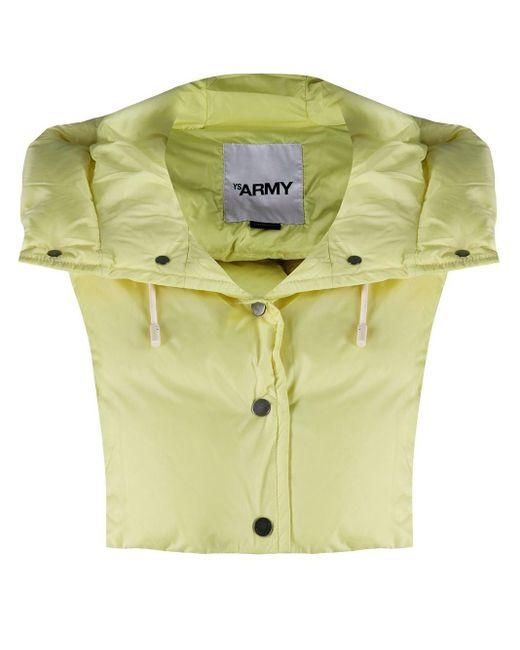 Army by Yves Salomon フーデッド オーバーレイ Yellow