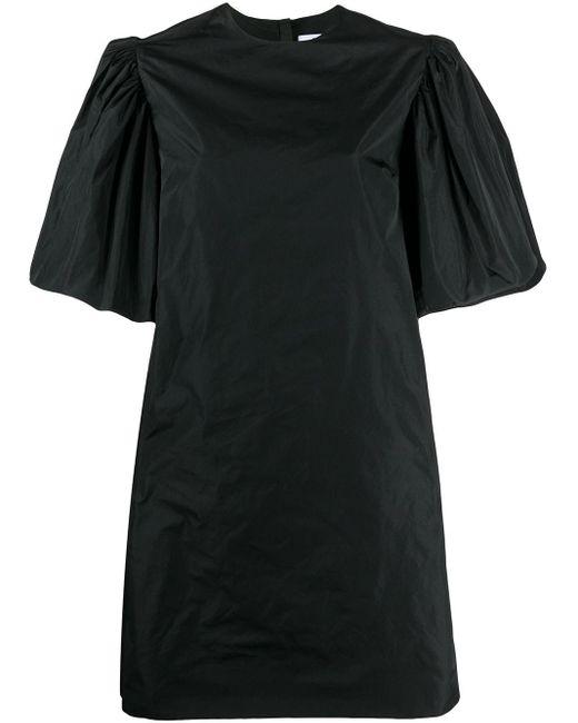 MSGM パフスリーブ ドレス Black