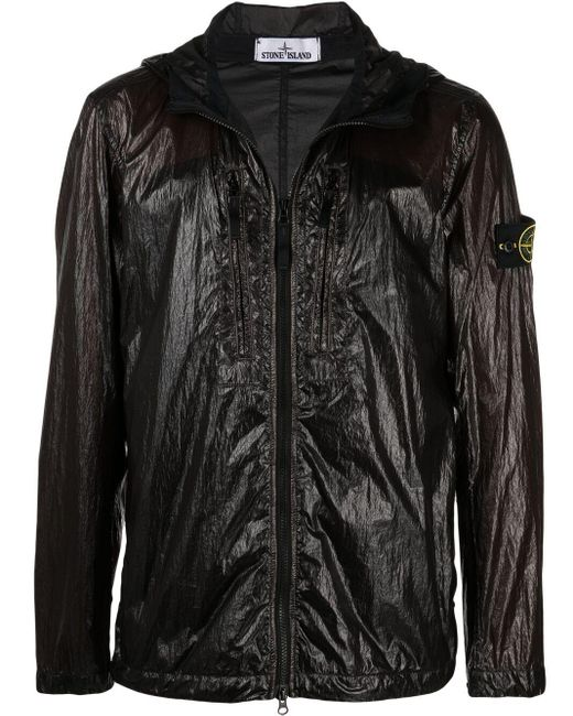 Куртка На Молнии Stone Island для него, цвет: Black