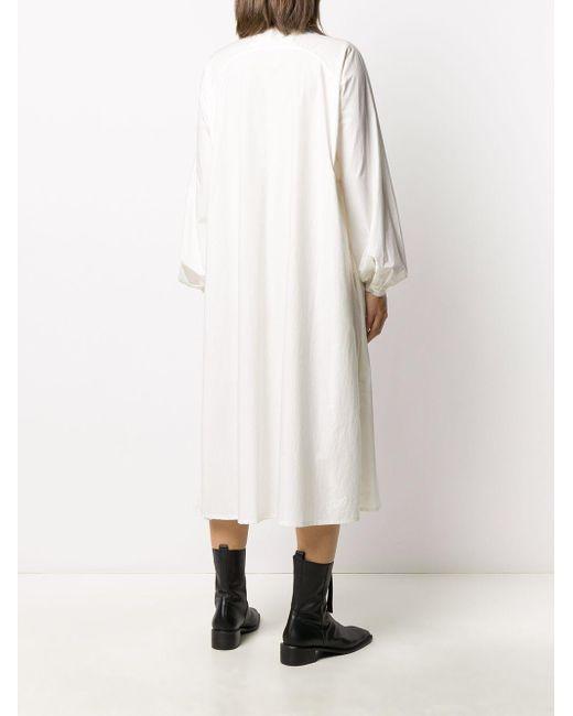 Toogood Botanist シャツドレス White