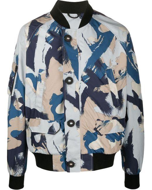 メンズ Canada Goose ボンバージャケット Blue