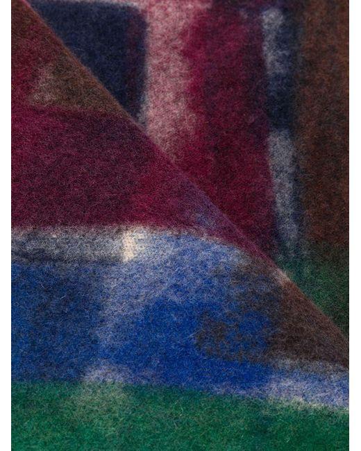 Faliero Sarti カシミア スカーフ Blue
