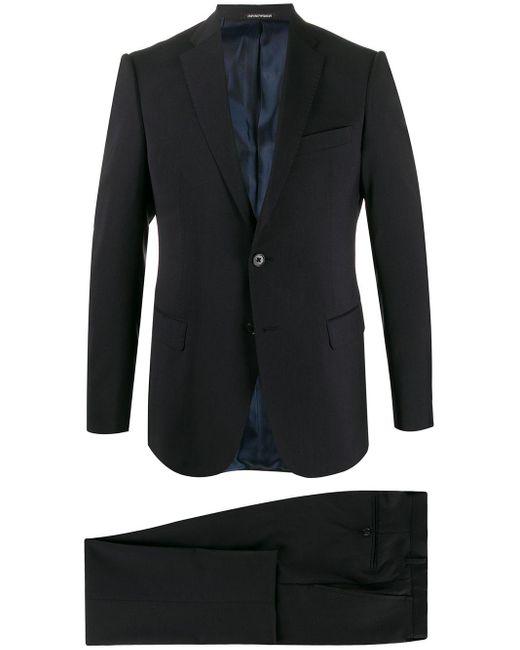 メンズ Emporio Armani ツーピース スーツ Black