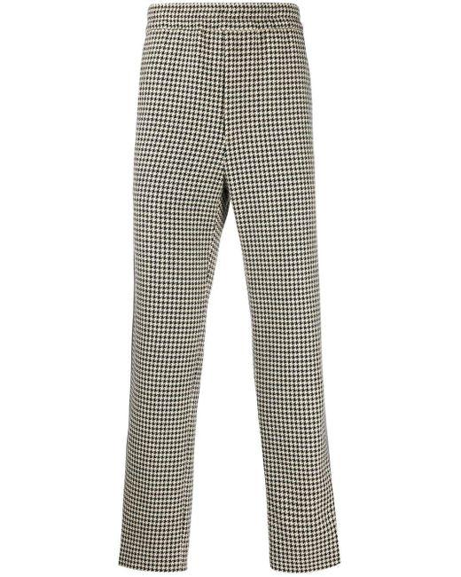 メンズ Gucci GG ストライプ ハウンドトゥース パンツ Multicolor