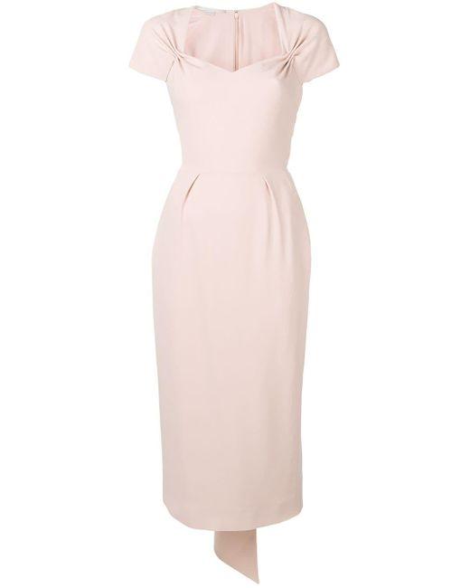 Stella McCartney スウィートハートネック ドレス Pink