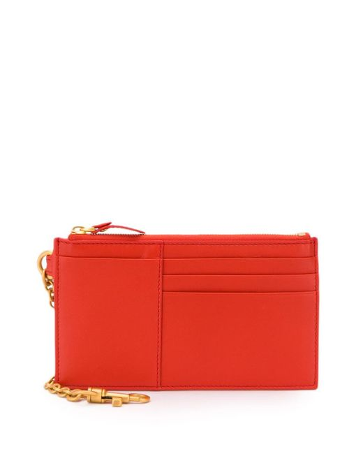 Bottega Veneta ファスナー財布 Red