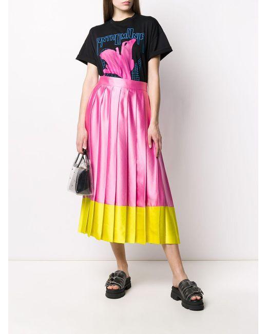 MSGM プリーツ スカート Pink