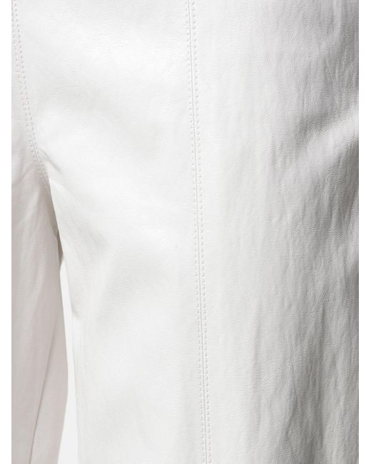 Зауженные Брюки С Завышенной Талией Pinko, цвет: White