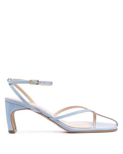 Elleme Blue Sandalen mit Zehensteg