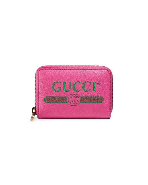 メンズ Gucci ファスナー財布 Pink