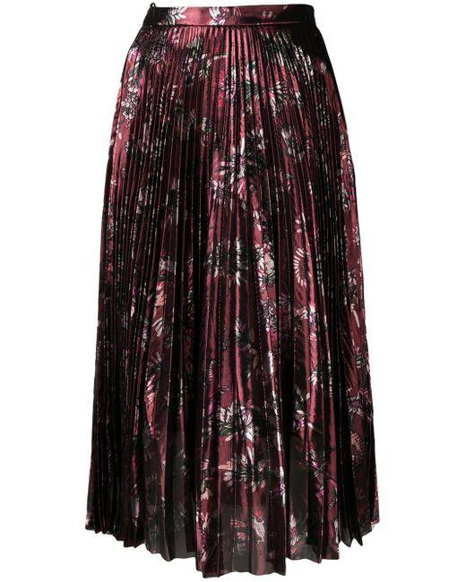Markus Lupfer Hailey メタリックスカート Multicolor