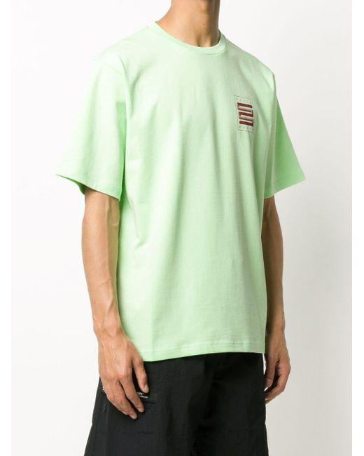 メンズ Daily Paper ロゴ Tシャツ Green