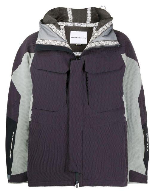 メンズ White Mountaineering Gore Tex コントラストジャケット Multicolor