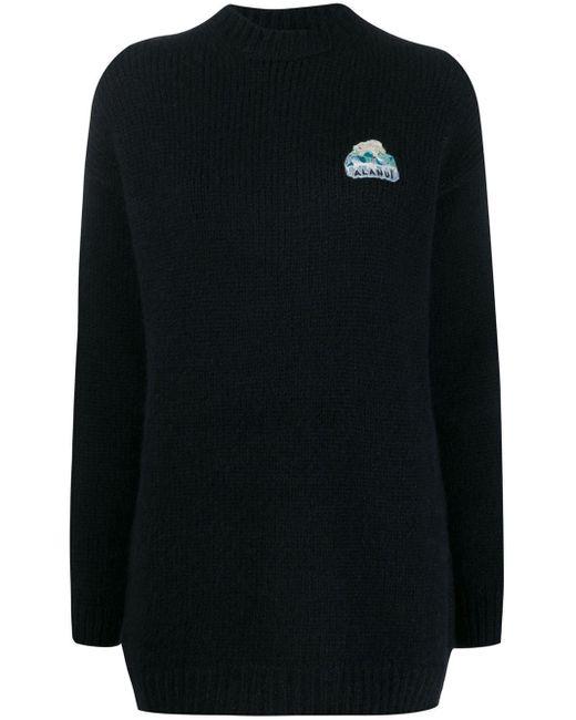 Alanui オーバーサイズ セーター Blue