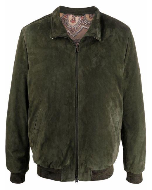 メンズ Etro ボンバージャケット Green