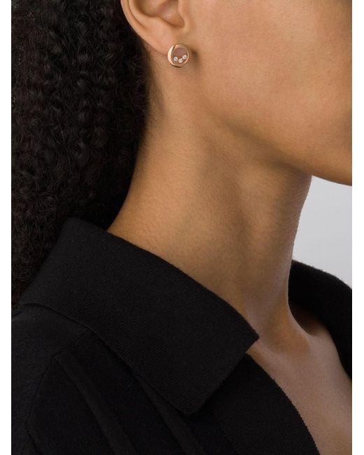 Pendientes Happy Diamonds Icons en oro rosa 18kt Chopard de color Metallic