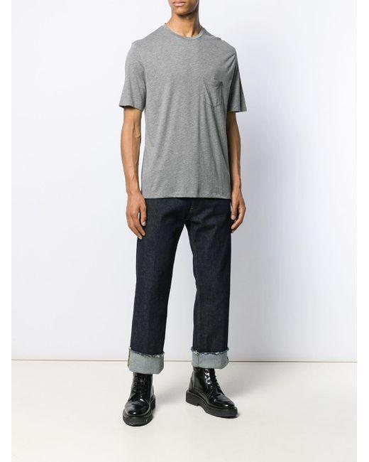 T-shirt à poche poitrine Neil Barrett pour homme en coloris Gray