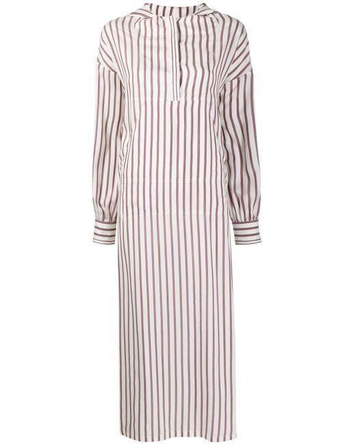 Ferragamo スプリットスリーブ ドレス Multicolor