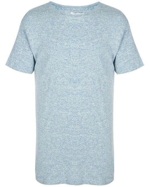 メンズ John Elliott ラウンドネック Tシャツ Blue