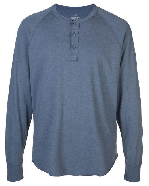 メンズ Save Khaki Heather Tシャツ Blue