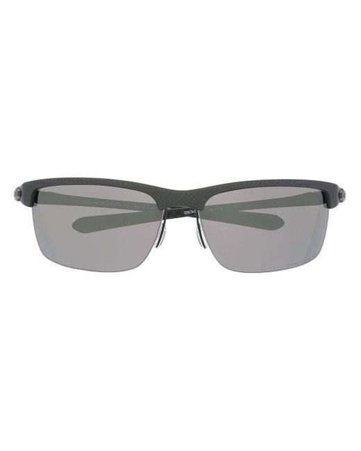 メンズ Oakley スクエアフレーム サングラス Gray