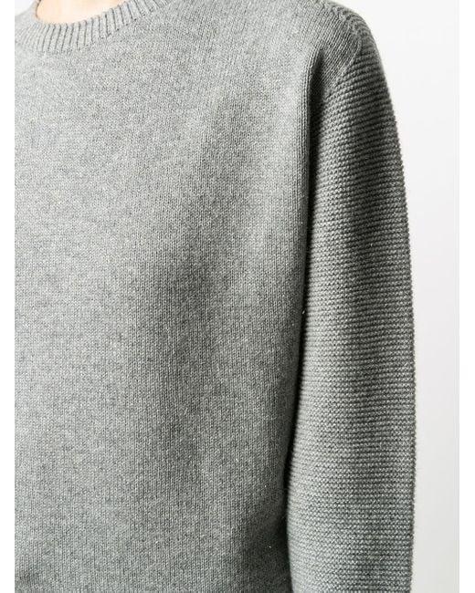 Peserico ファインニット セーター Gray