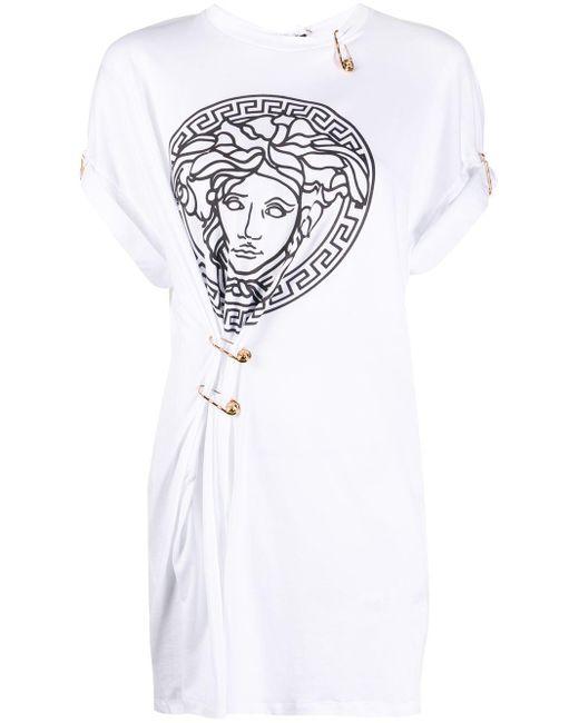 Versace メデューサ Tシャツ White