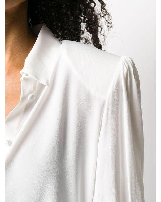 Рубашка С Заостренным Воротником FEDERICA TOSI, цвет: White