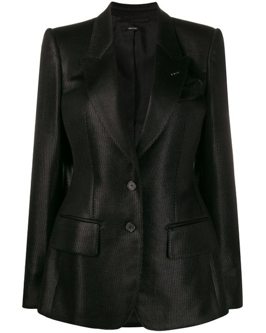 Tom Ford シングルジャケット Black