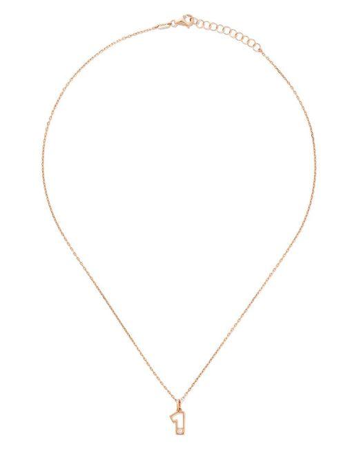 AS29 One ダイヤモンド ネックレス 14kローズゴールド Metallic