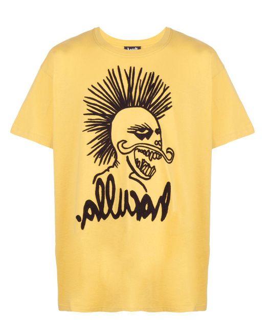 メンズ Haculla Hac-head Tシャツ Yellow
