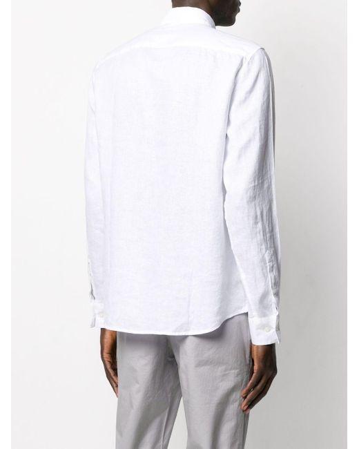 メンズ Michael Kors リネン Tシャツ White