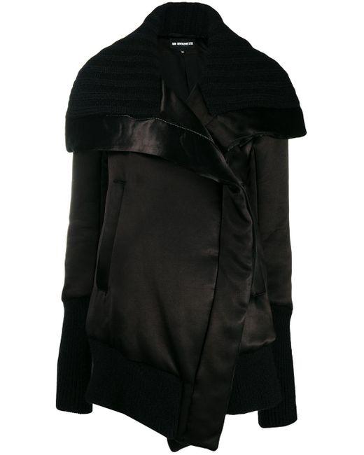 Ann Demeulemeester オーバーサイズ コート Black