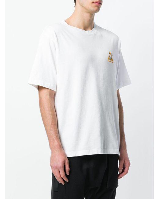 メンズ Unravel Project プリント Tシャツ White