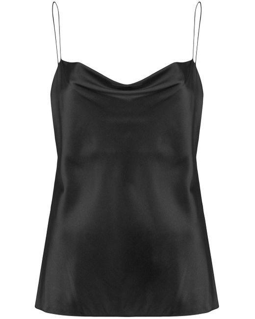 Dorothee Schumacher Top tipo camisola Sense of Shine de mujer de color negro mT2U1