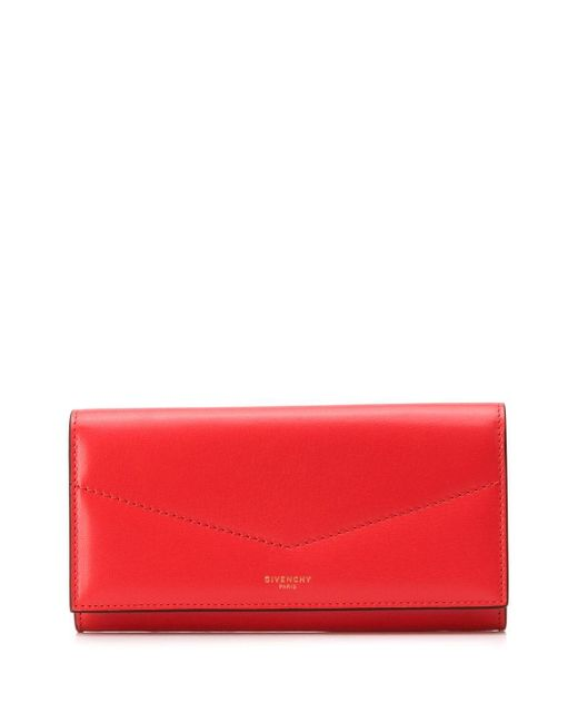 Givenchy フラップ財布 Red